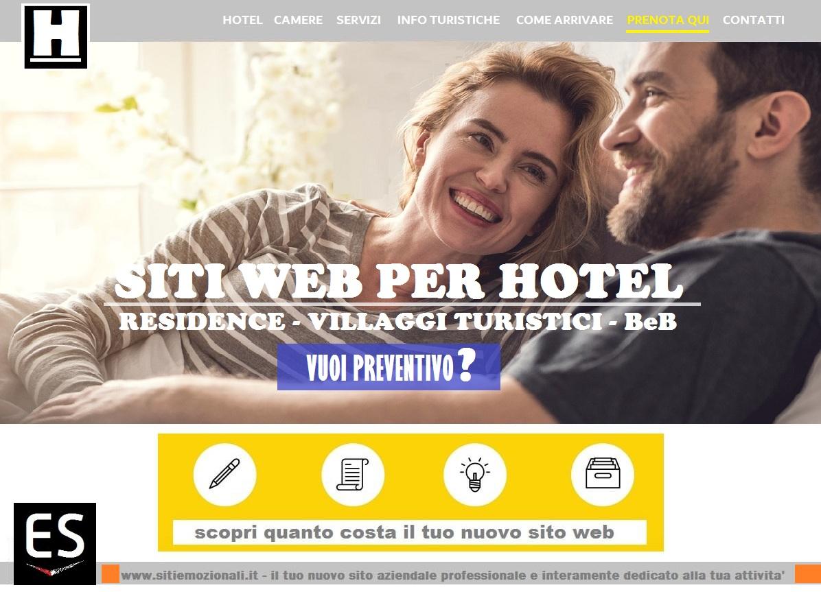 realizzazione siti web per hotel Milano