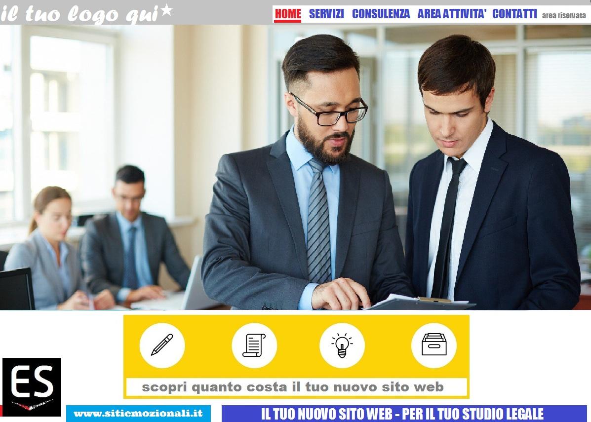 realizzazioni siti web per studi legali